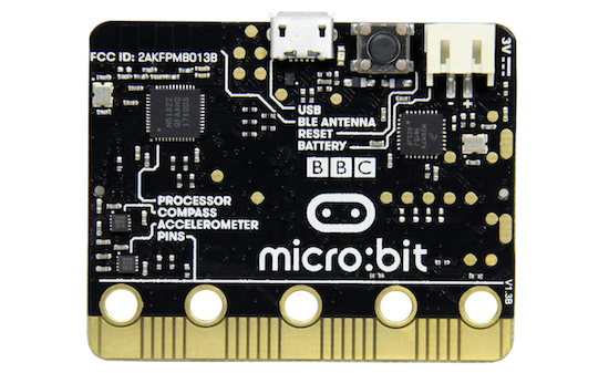 micro:bit公式サイトトップページの画像