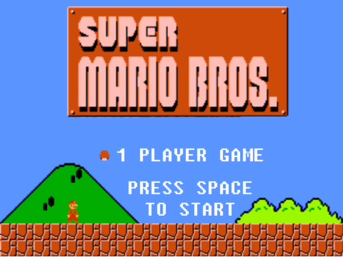 Super Mario Bros. (Larry's Castle)